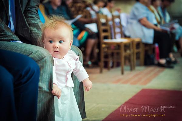 Marion dans l'église