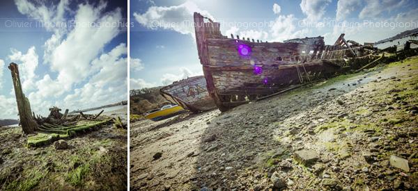 Epave de bateaux au Breizh Photo Camp 2013