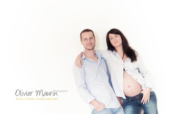 Photos de couple avant la naissance de leur enfant
