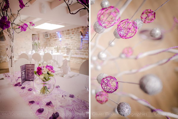photo de décorations de salle du mariage