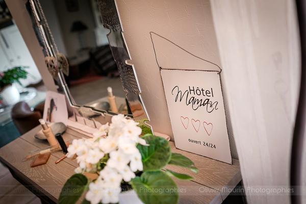 détails décoration mariage