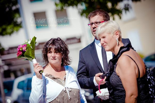 Famille avant la cérémonie