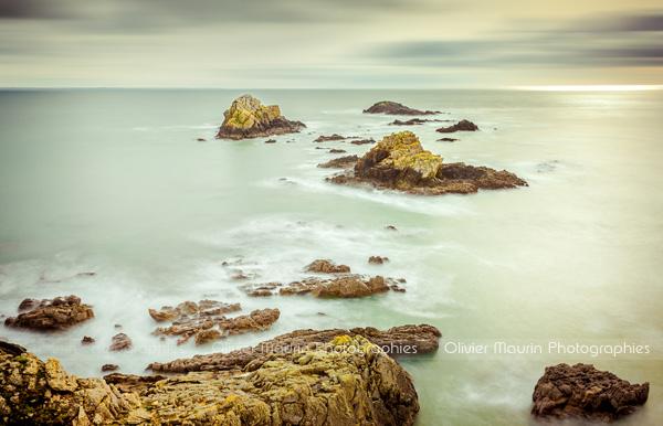 Pose longue en Bretagne