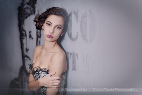 Portrait femme mode