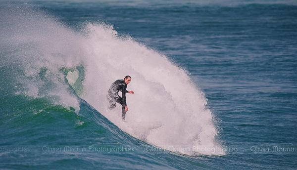 Surfeur à La Torche