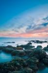Pose longue sur la côte de Royan