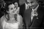Mariés pendant la cérémonie