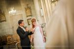 discourt des mariés pendant la cérémonie