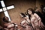 Chants gospel pendant cérémonie religieuse du mariage