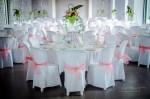 La salle de réception pour les mariés