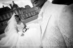 Photo de détails mariage costume