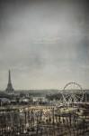 Les Tuilleries et la Tour Eiffel