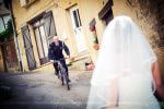 séance photo couple le jour du mariage