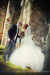shooting couple pendant le mariage