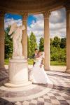 séance photo couple dans les jardins de la reine