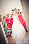 Préparatifs mariage la mariée avec ses amies