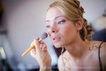 Préparatifs mariage maquillage de la mariée